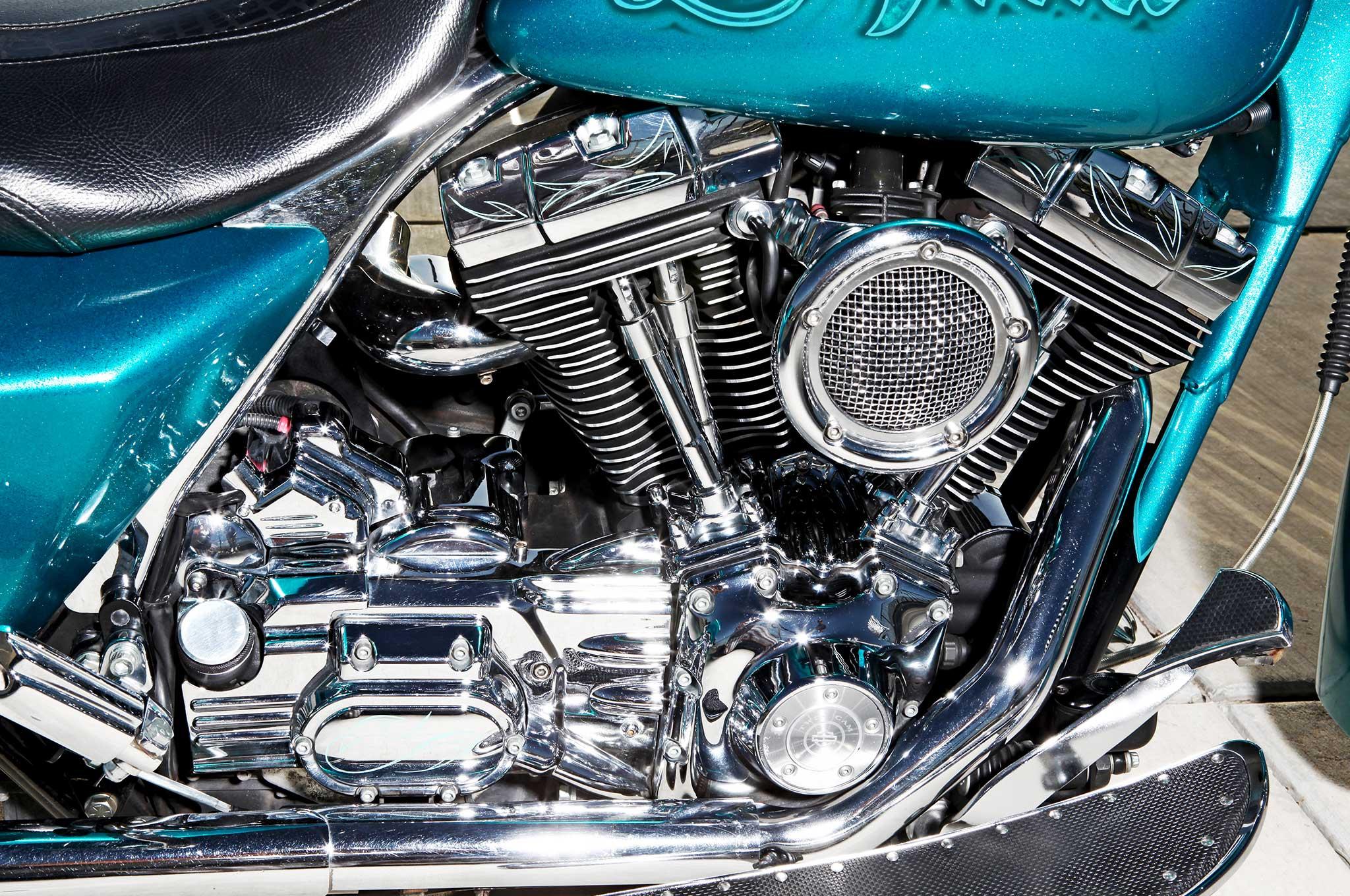 2004 harley davidson road king 88ci engine 017