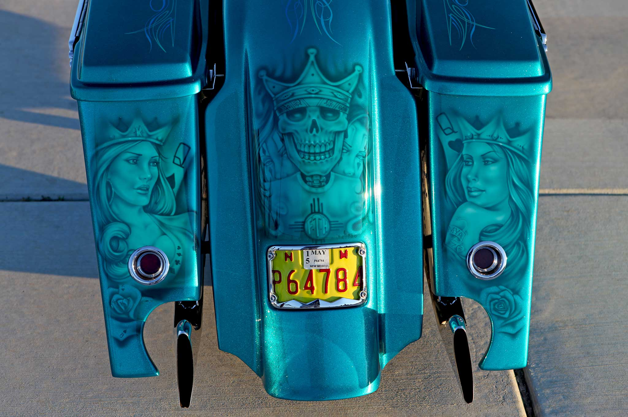 2004 harley davidson road king murals 016