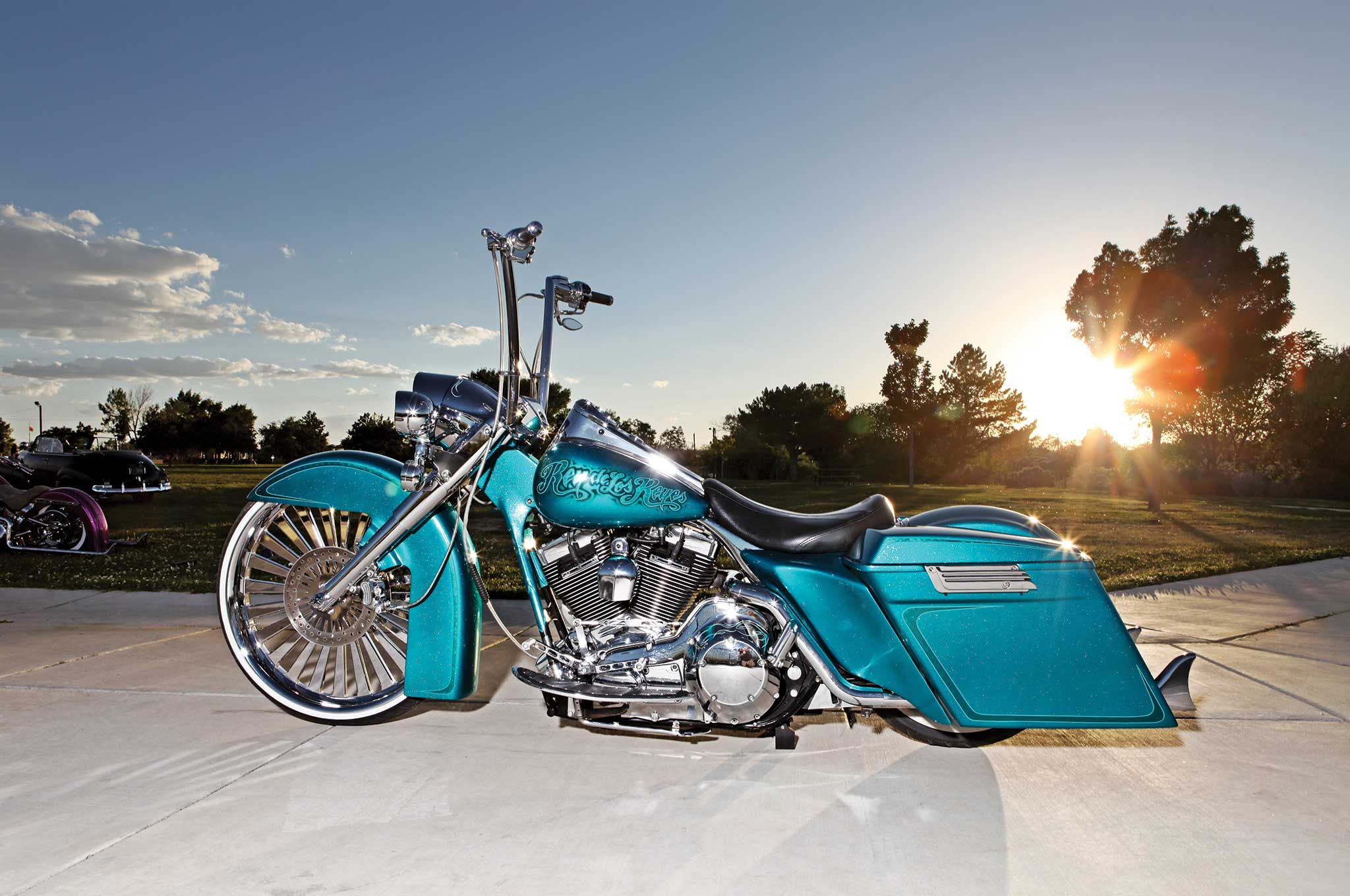 2004 harley davidson road king king of the road lowrider. Black Bedroom Furniture Sets. Home Design Ideas