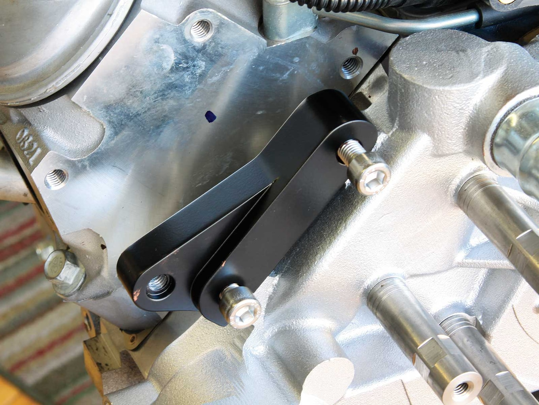 eddie motorsport s drive pulley system ac compressor bracket 008