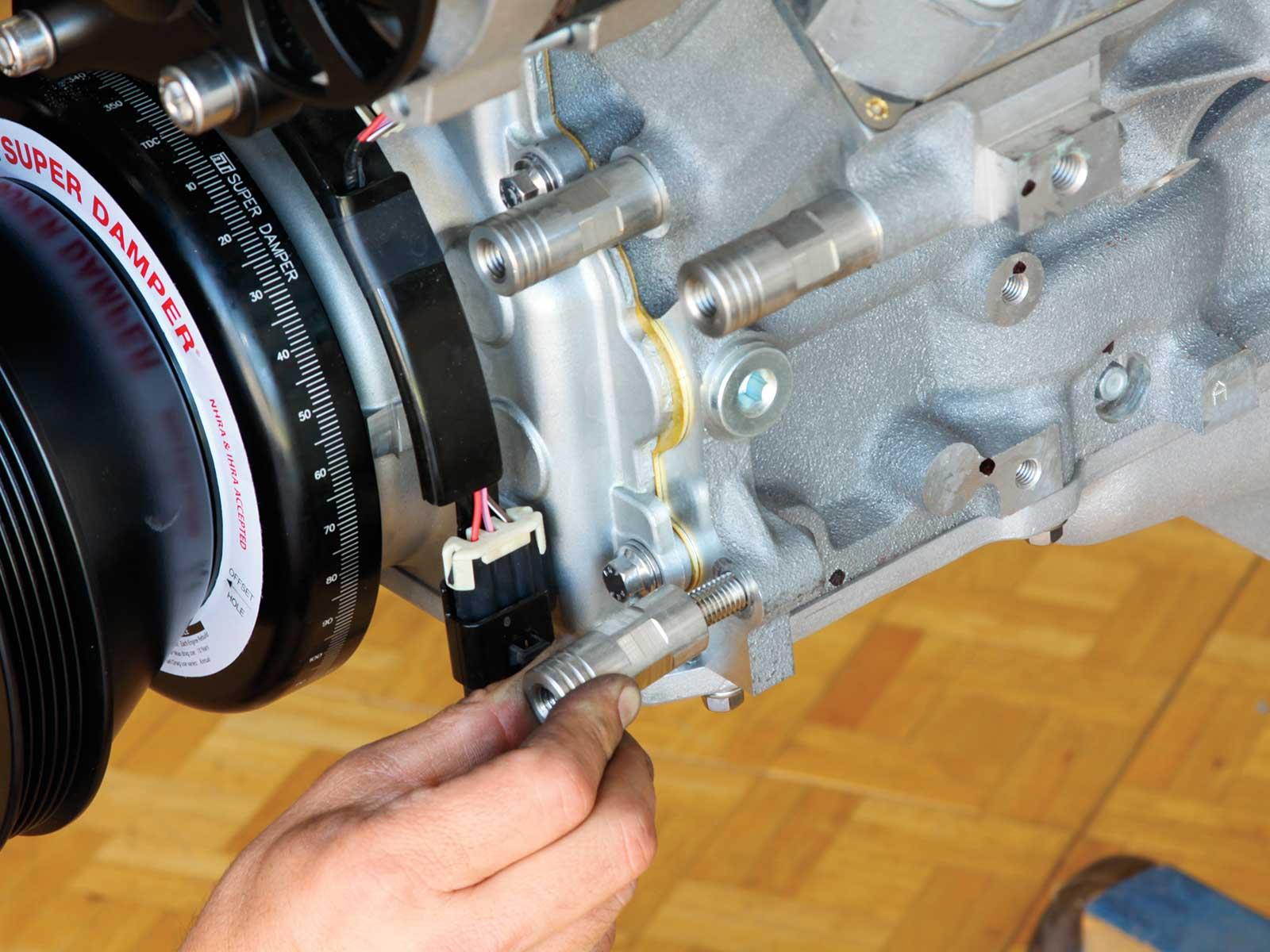 eddie motorsport s drive pulley system spacer posts install 017