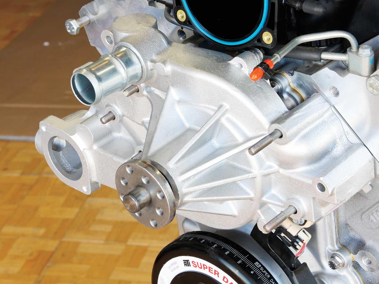 eddie motorsport s drive pulley system tuff stuff water pump 005