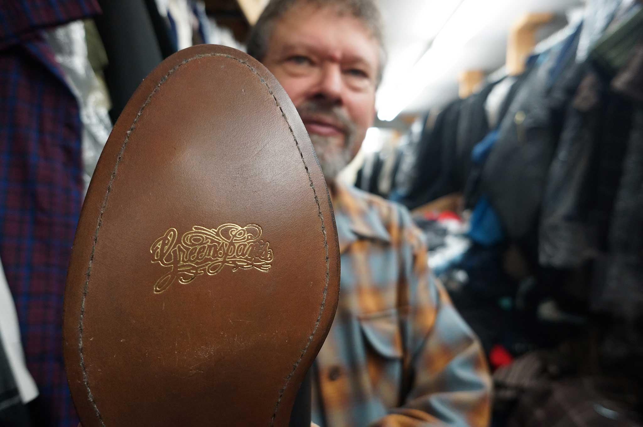 greenspans shoe sole 012