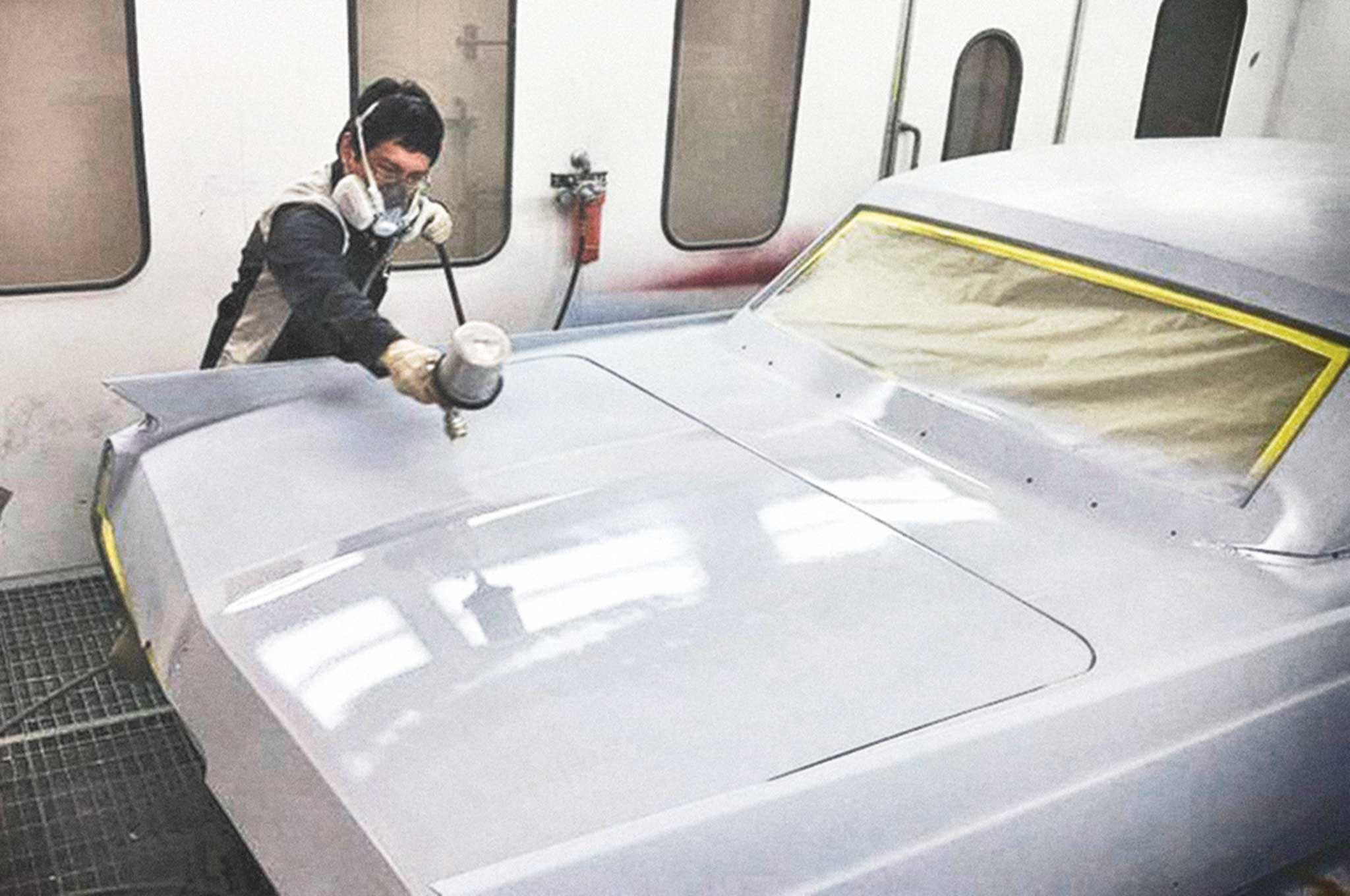 painting our 64 cadillac body sealing 013
