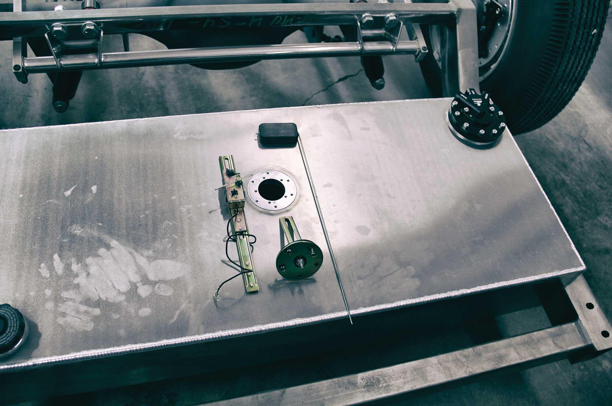 relocating a fuel tank cpp fuel sending unit 005