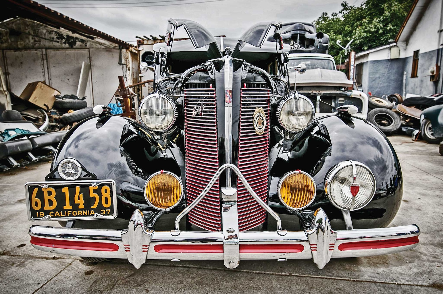 1937 buick special front bumper 004