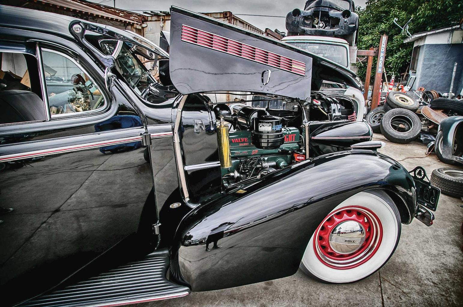 1937 buick special passenger side front fender 003