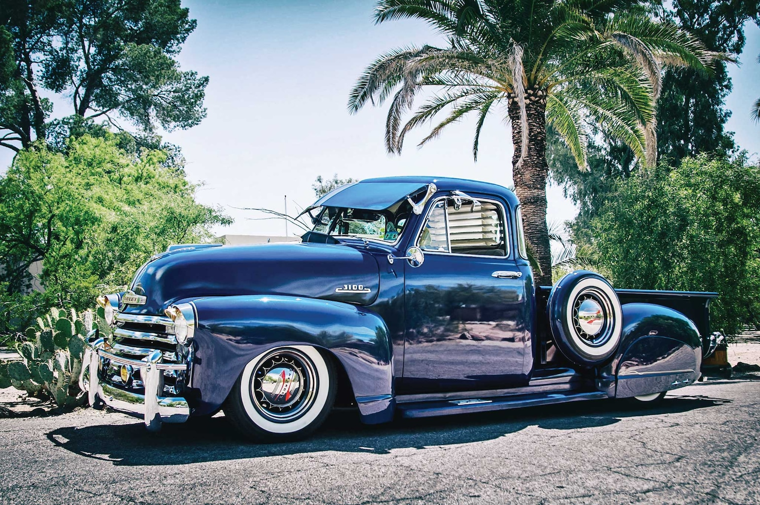 1953 Chevrolet 235 Pickup Truck Of The Month Lowrider