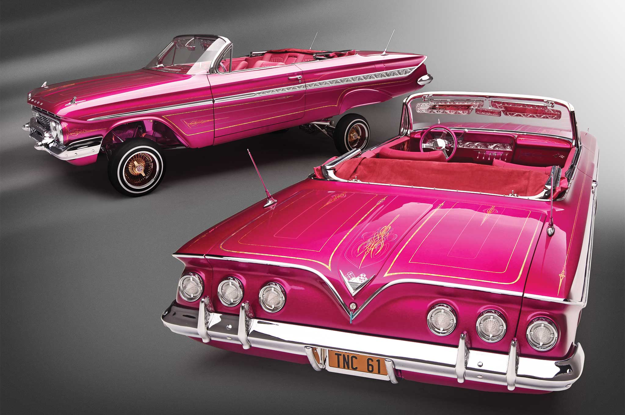 1961 Chevrolet Impala Convertible The Sweet Life Lowrider