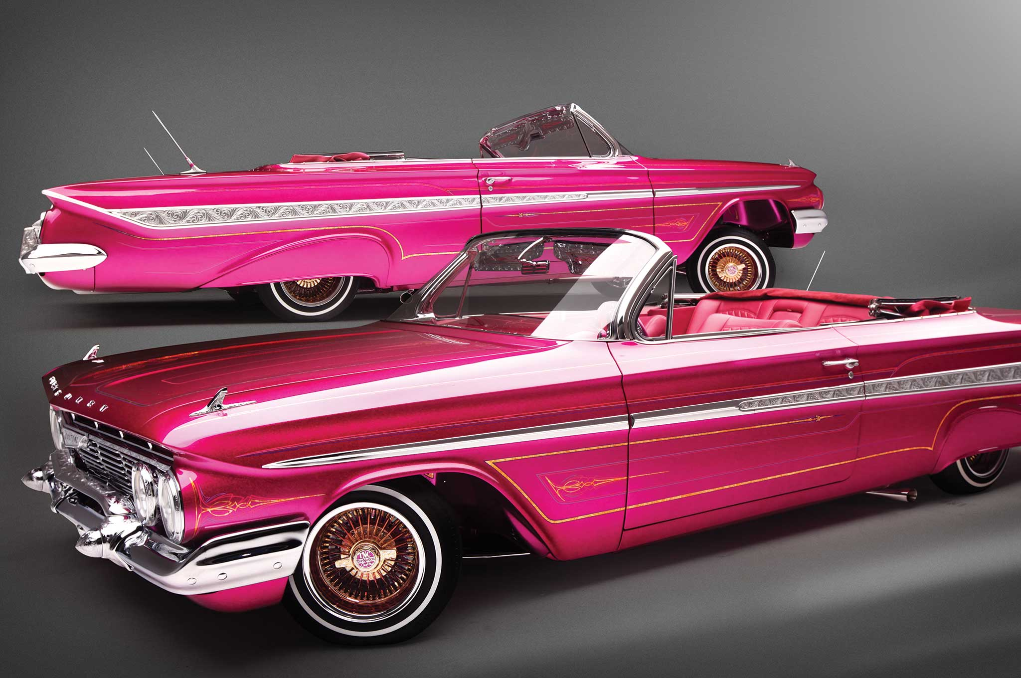 1961 chevrolet impala convertible candy kisses 002