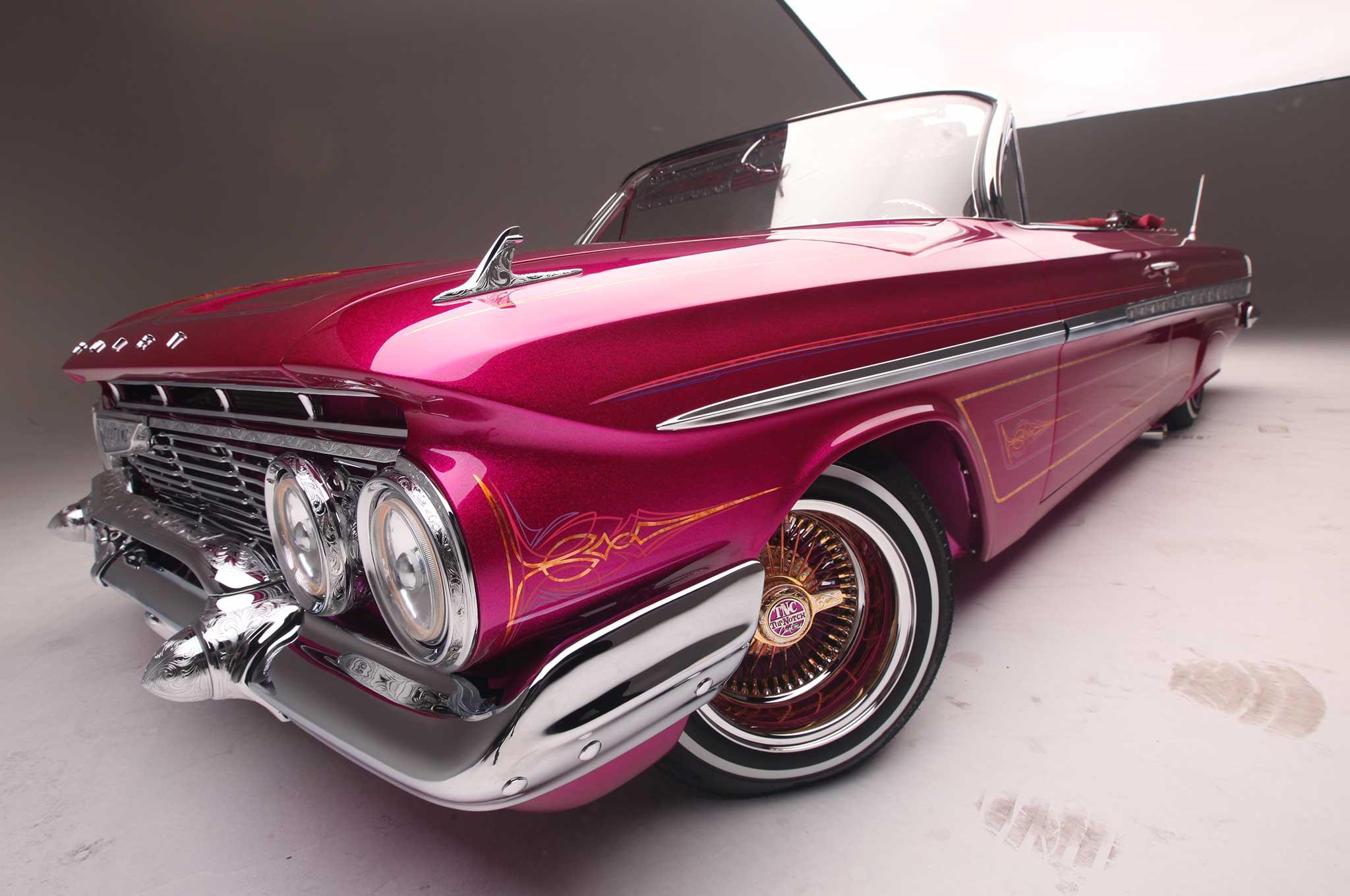 1961 chevrolet impala convertible front bumper 035