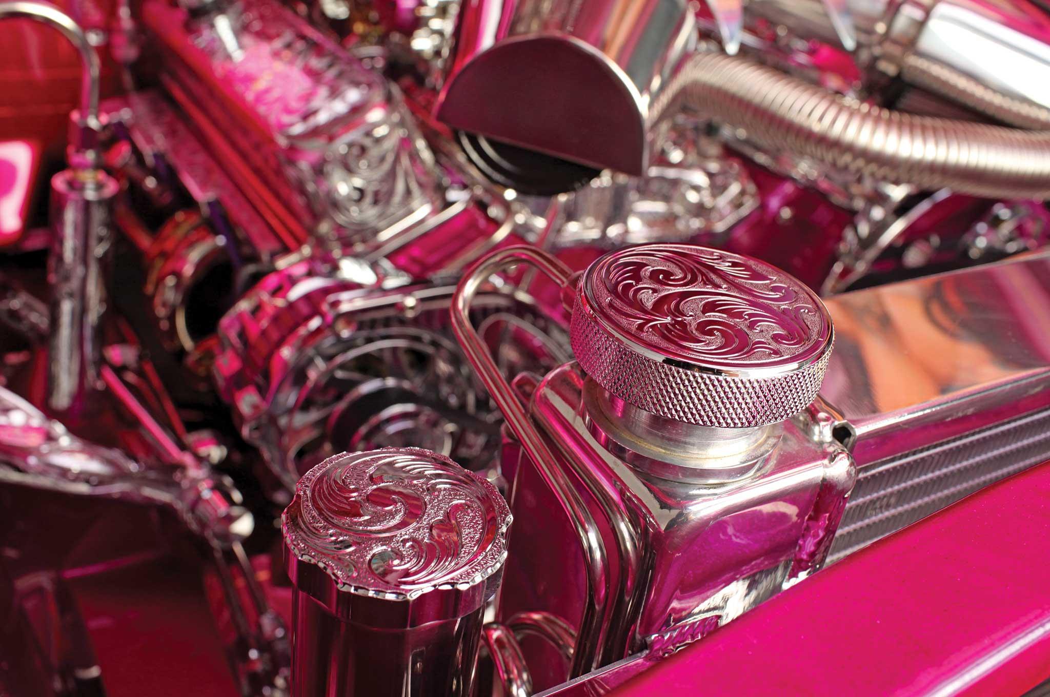 1961 chevrolet impala convertible radiator cap 010