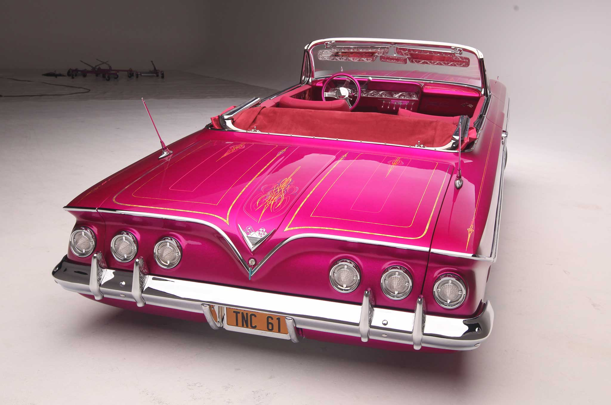 1961 Chevrolet Impala Convertible - The Sweet Life - Lowrider