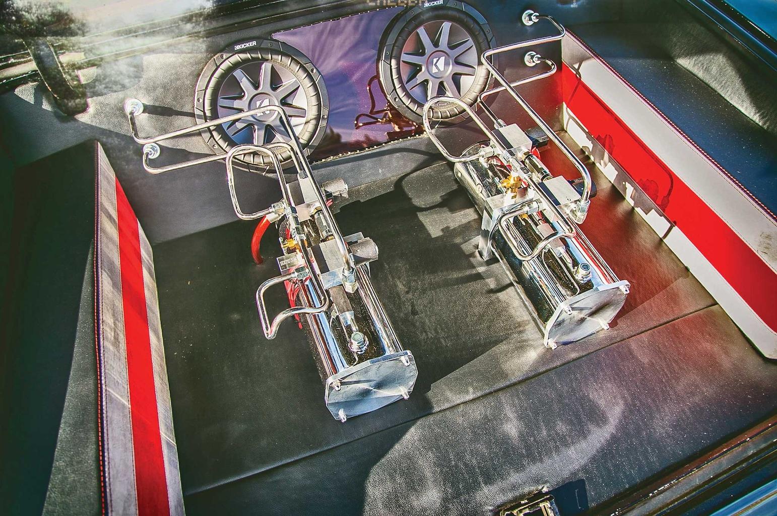 1962 chevrolet impala hoppos hydraulic two pump setup 007