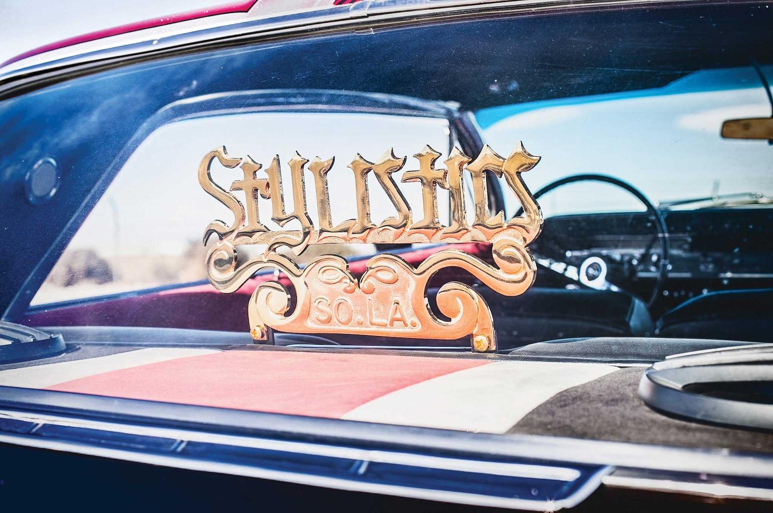 1962 chevrolet impala stylistics club plaque 005