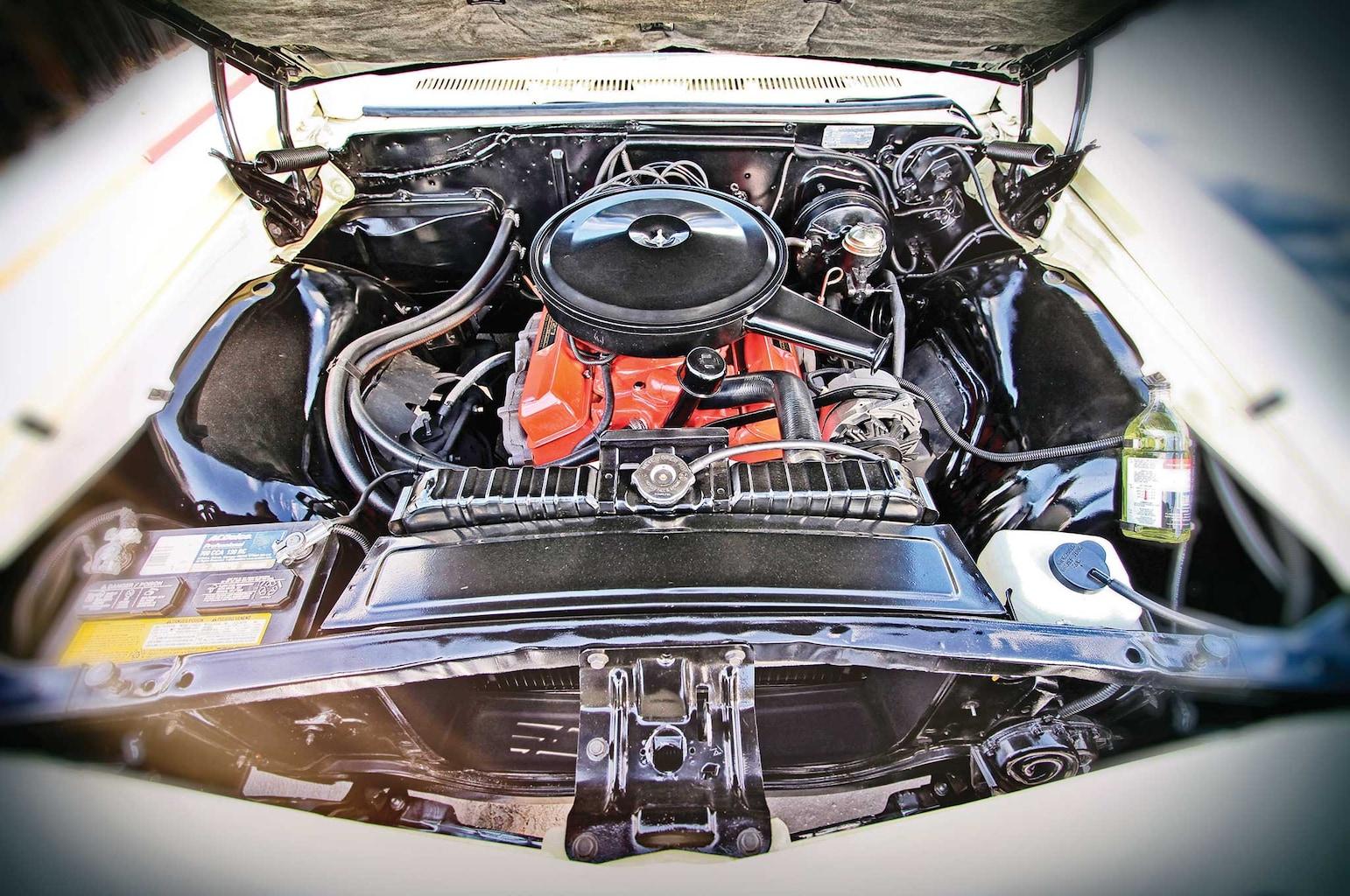 1966 chevrolet caprice 327 cid engine 003