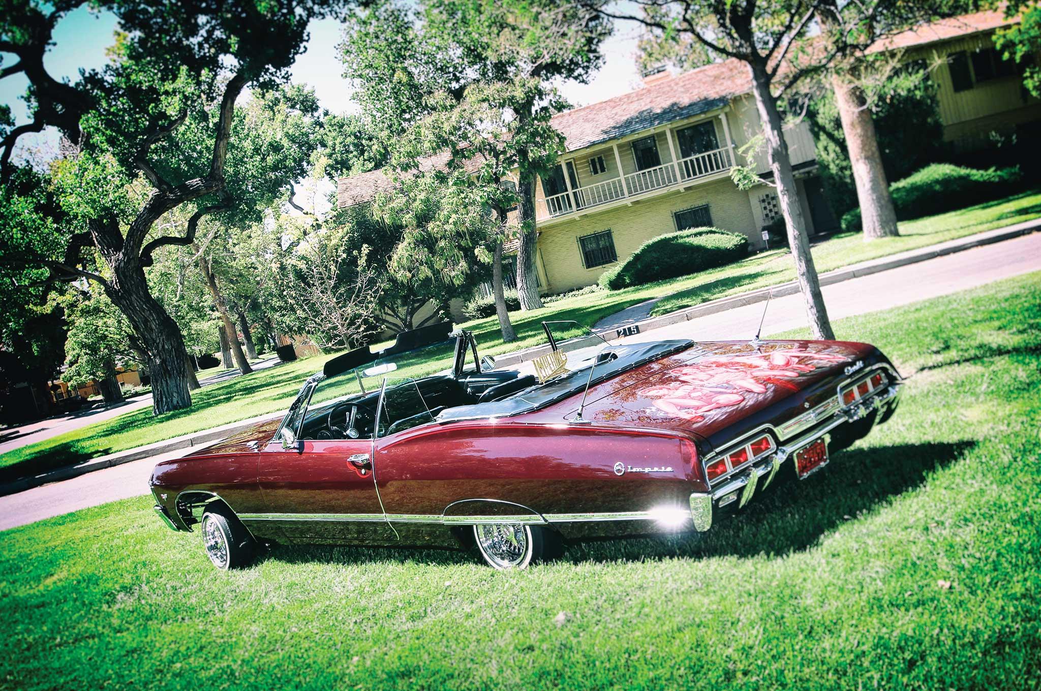 1967 Chevrolet Impala Convertible Drop It Like Its Hot Lowrider
