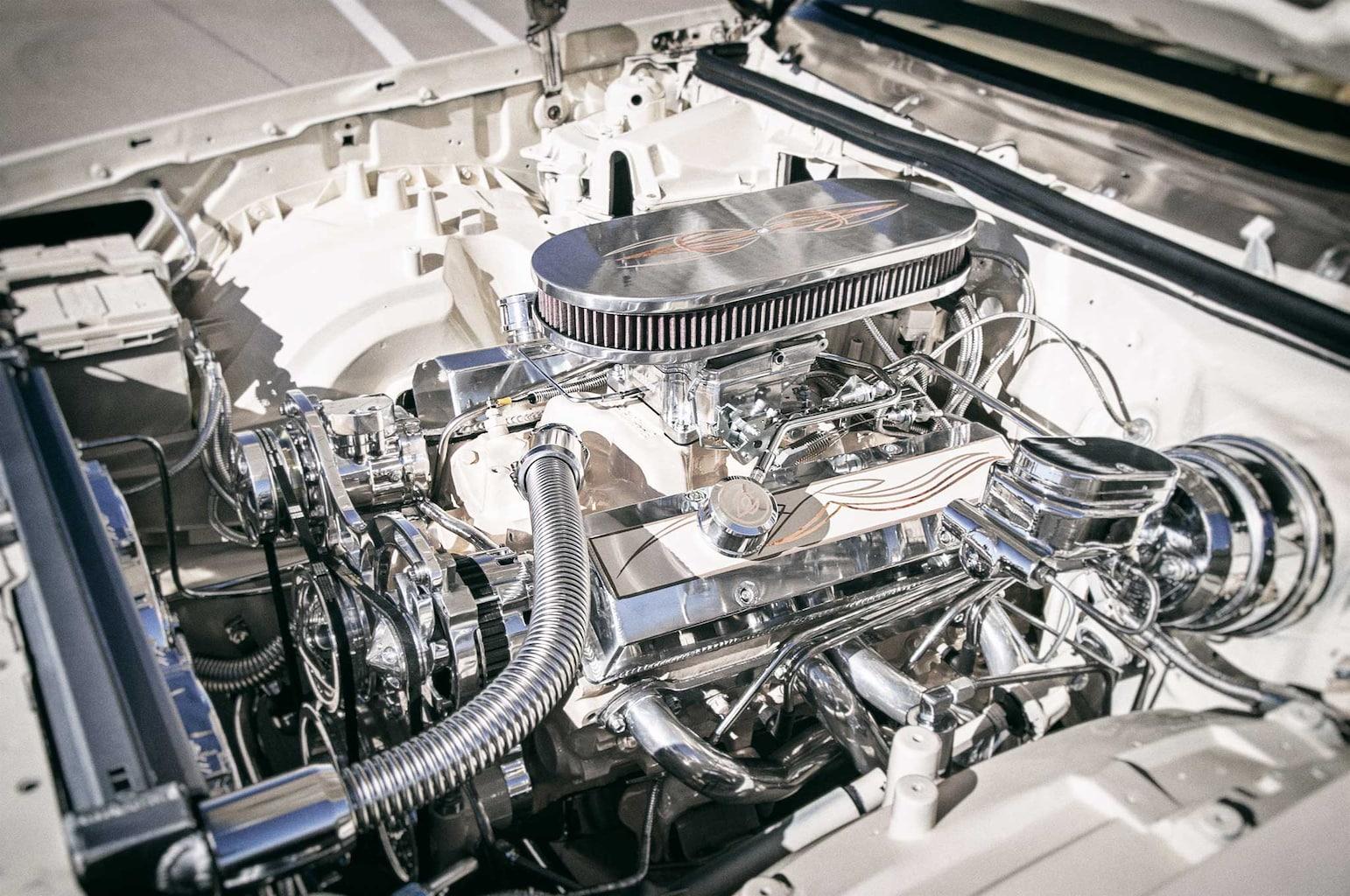 1985 oldsmobile cutlass supreme 350 small block crate motor 022