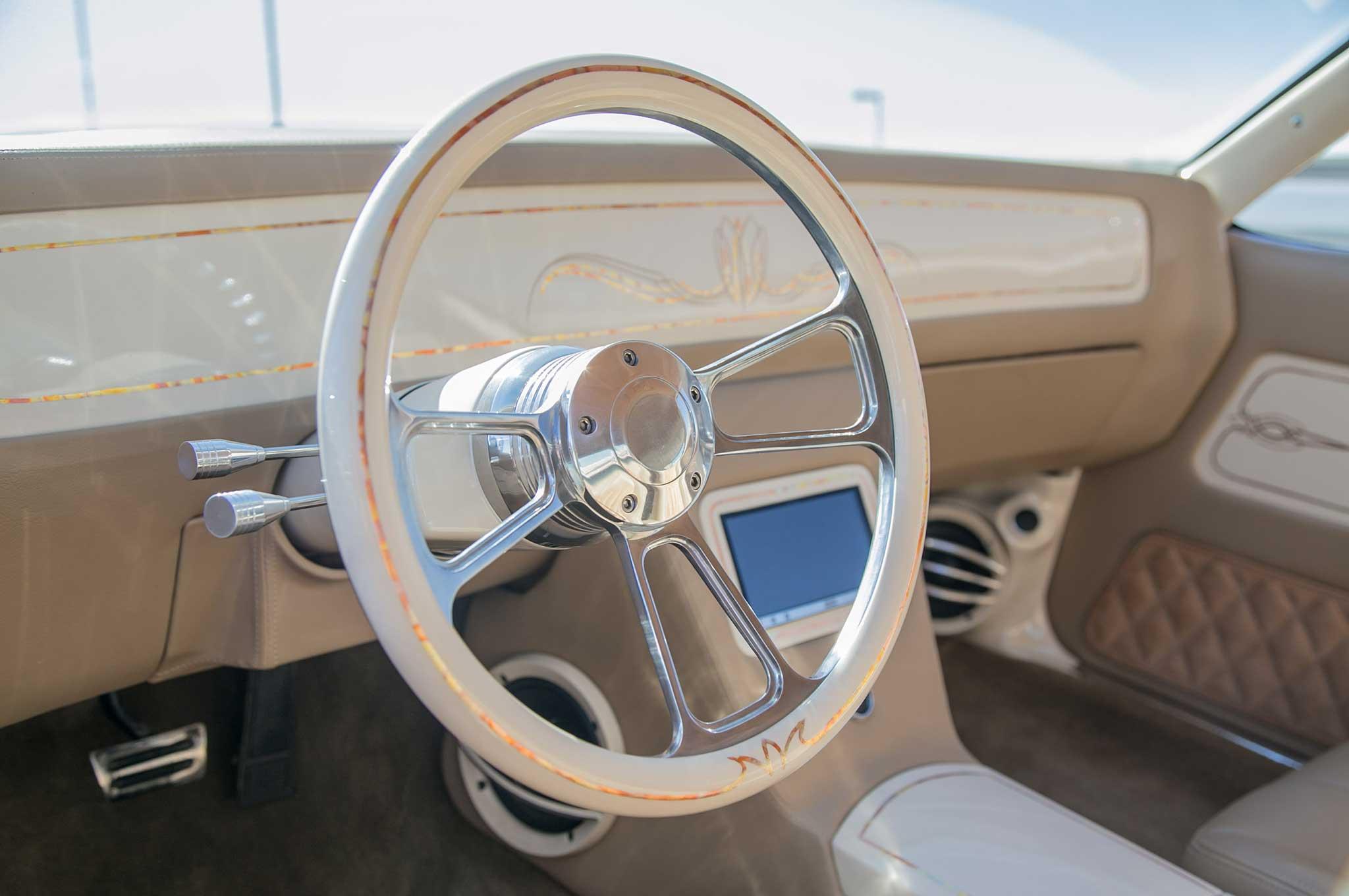 1985 oldsmobile cutlass supreme steering wheel 024 - Lowrider
