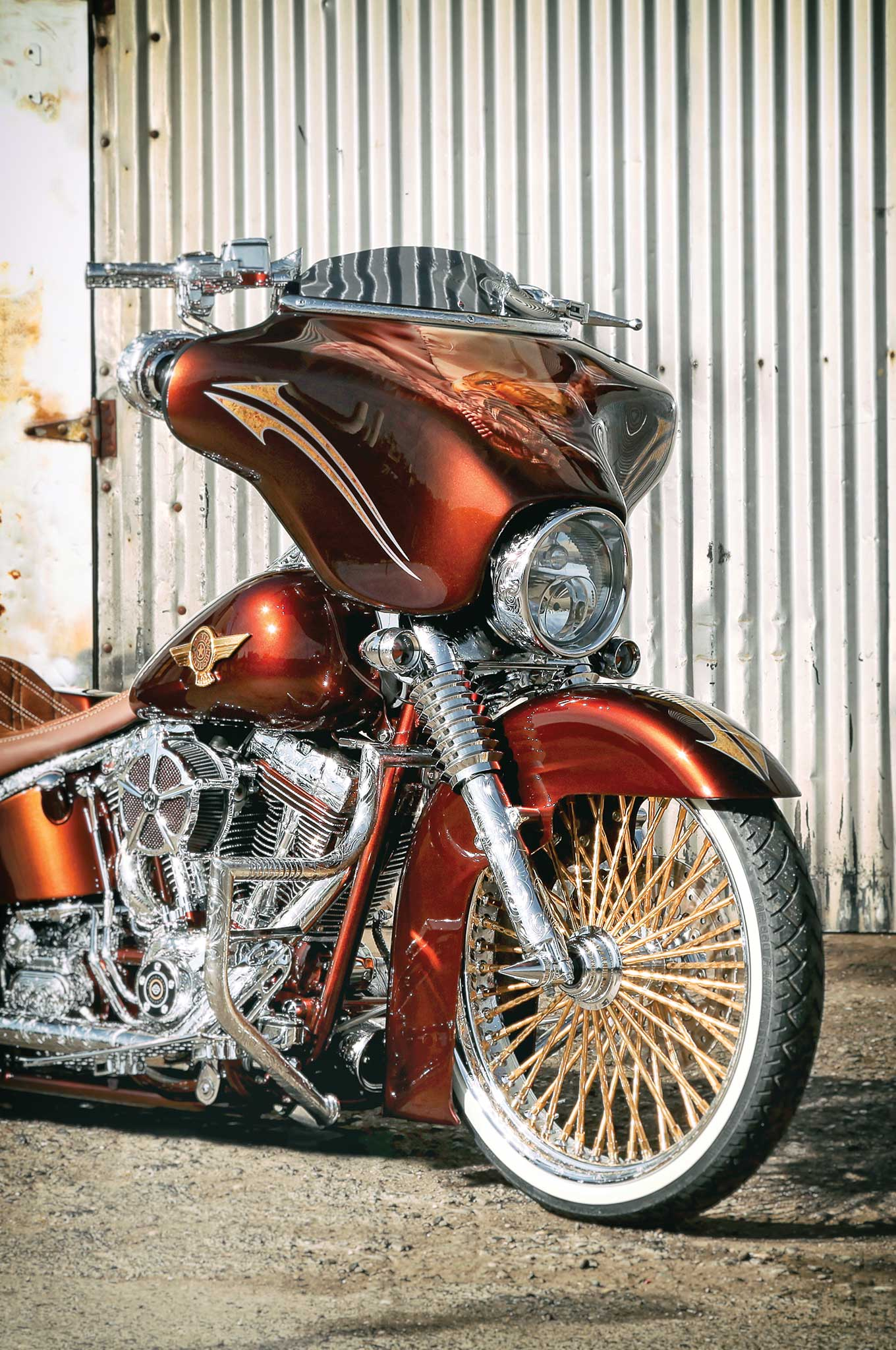 Lowrider Rims And Tires >> 2005 Harley-Davidson Fat Boy - Heritage With Style - Lowrider