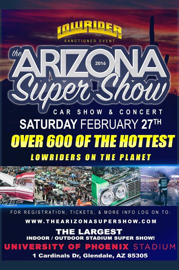 2016 arizona super show