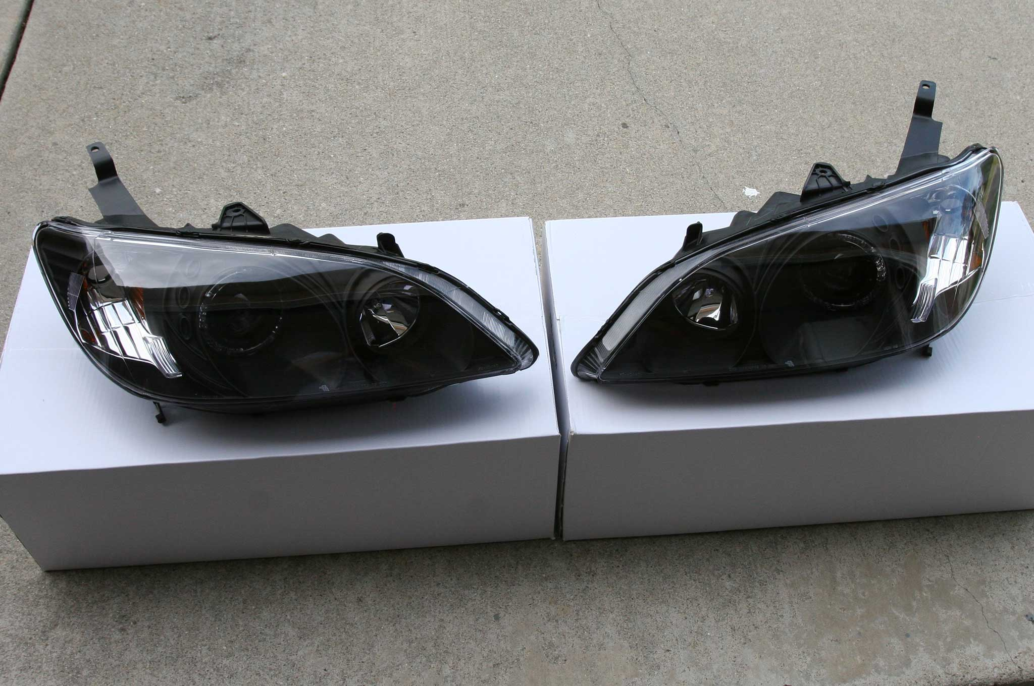 anzo headlights install 003