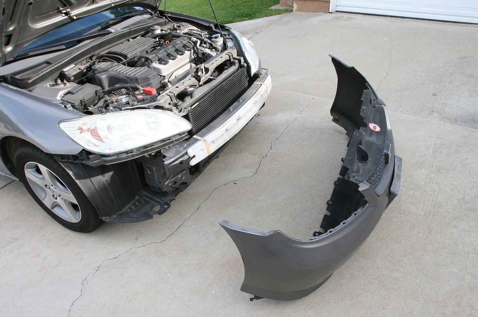anzo headlights install bumper removal 013