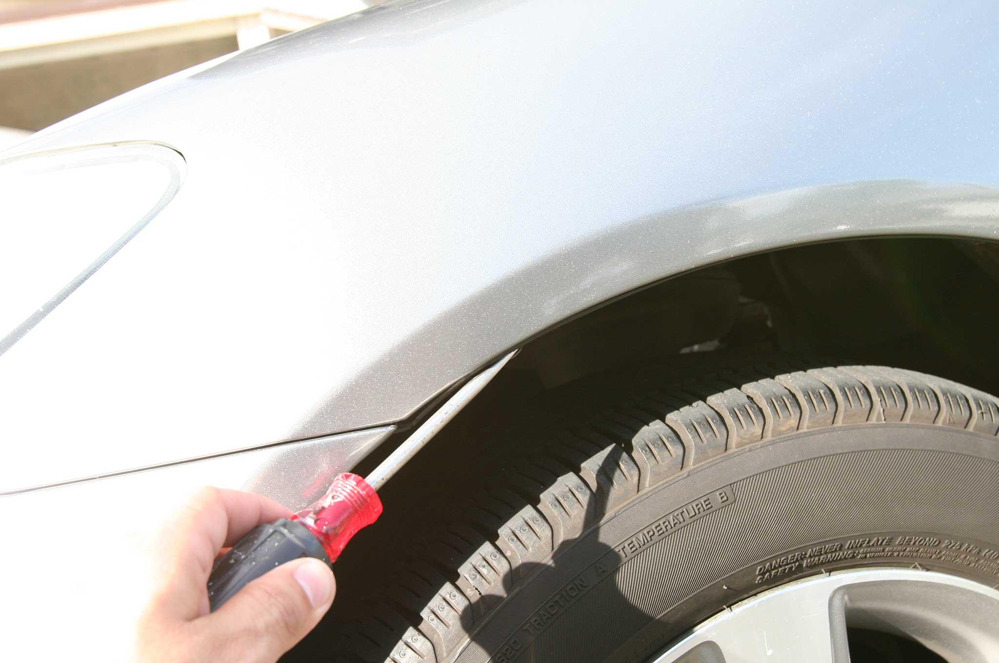 anzo headlights install fender bolt removal 012