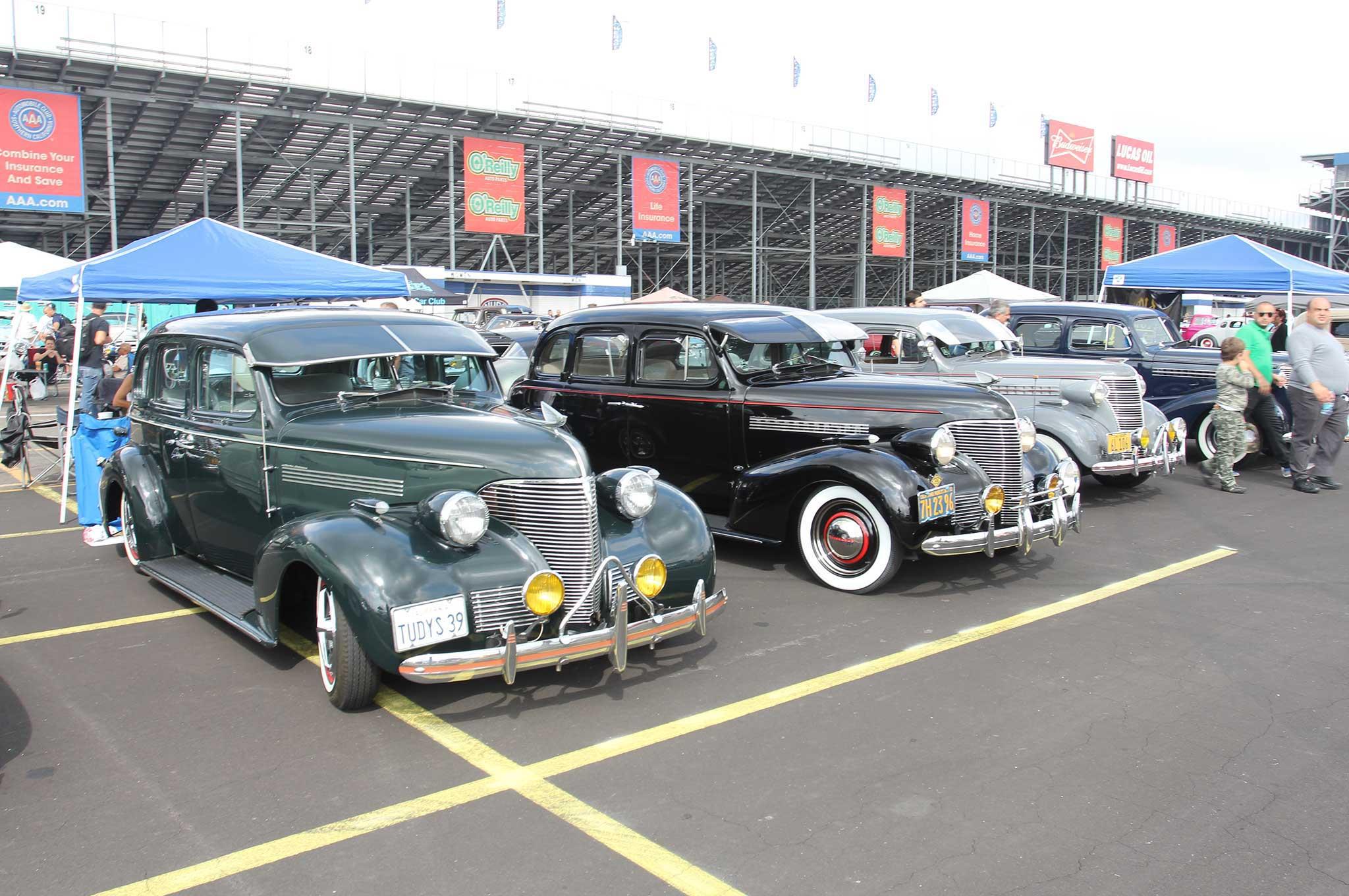 antique car show and swap meet