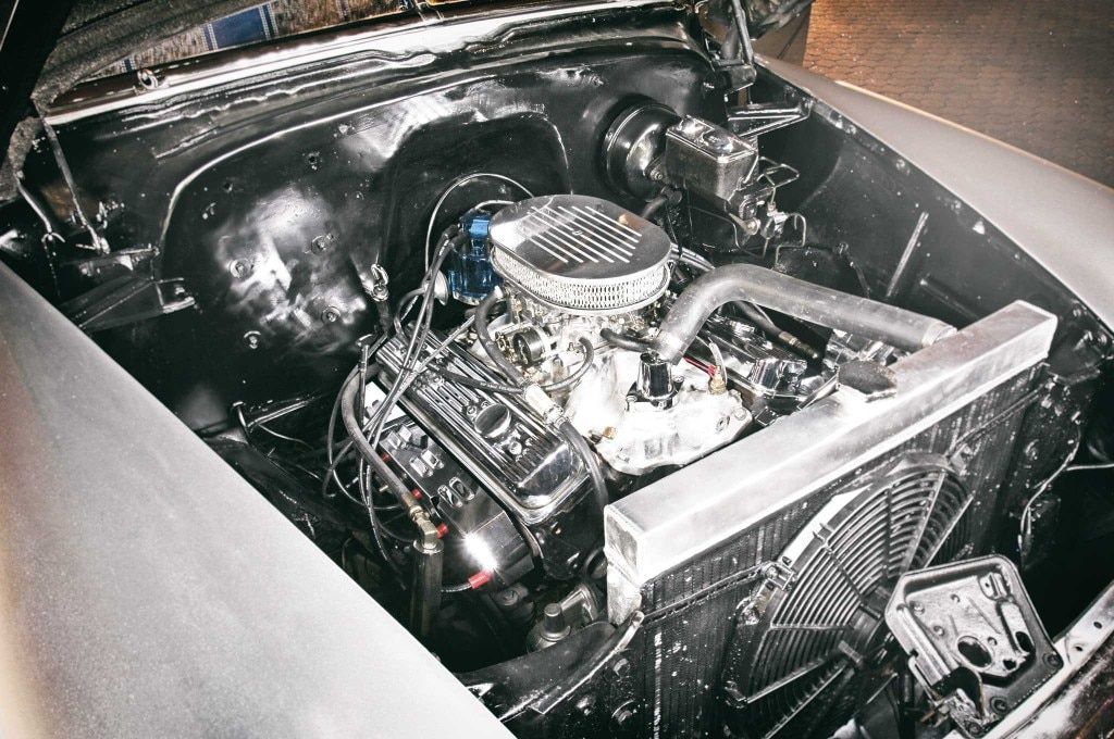 1950 chevrolet styleline 350 engine 003
