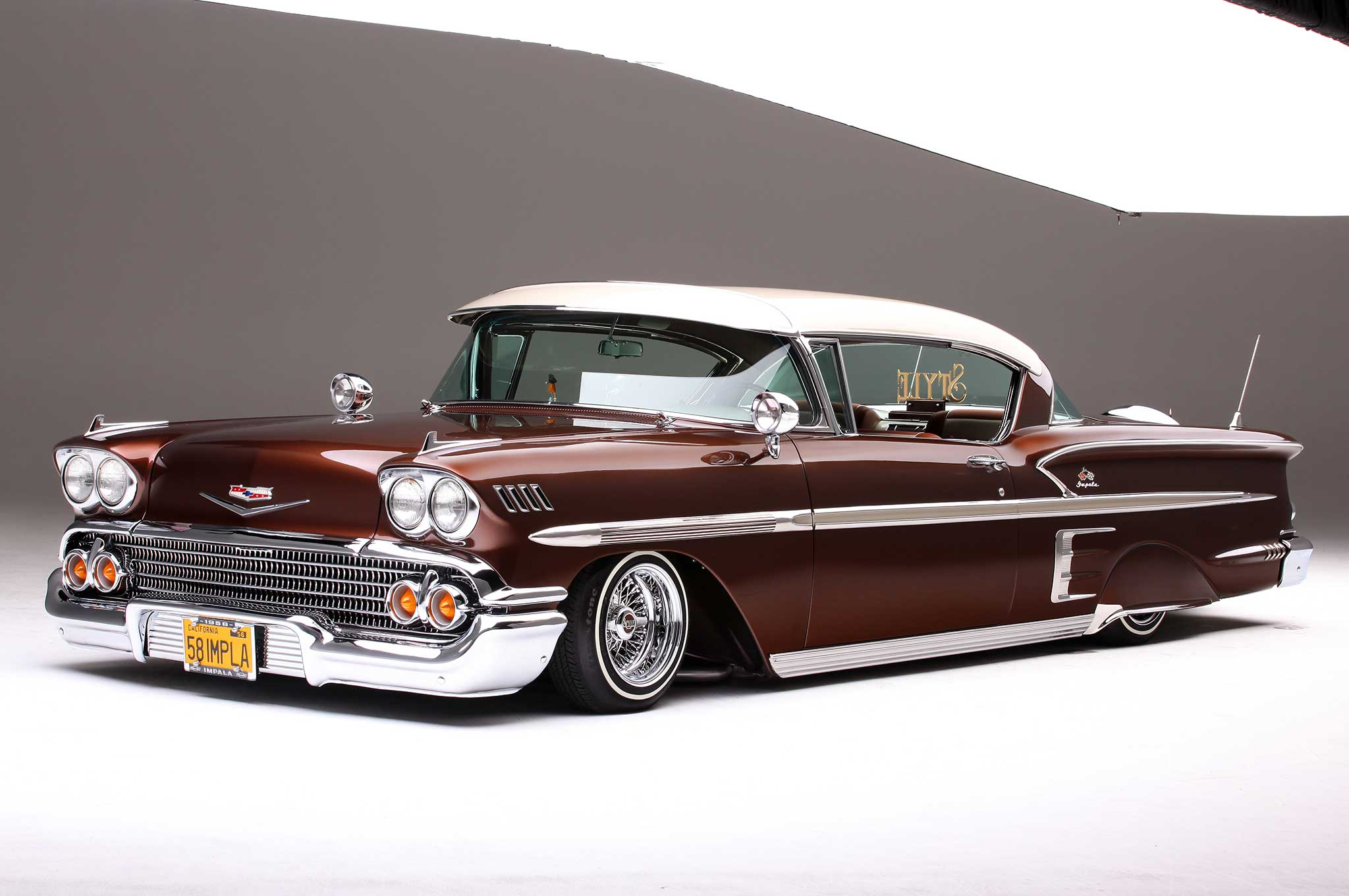 Old Chevy Cars >> 1958 Chevrolet Impala - Gentleman's Style of a '58 - Lowrider