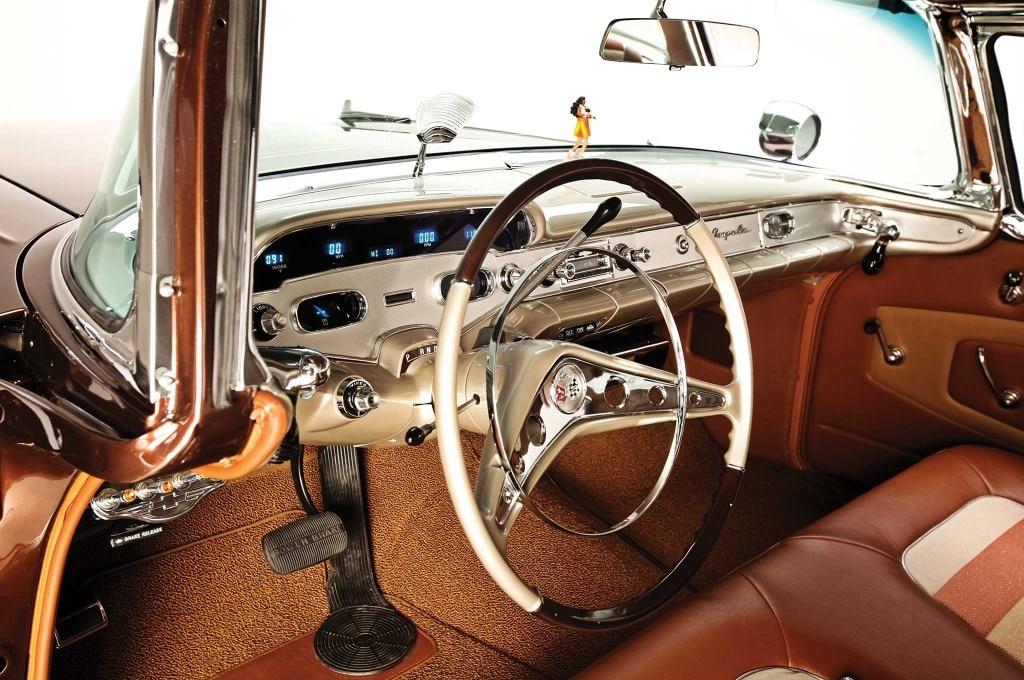 1958 chevrolet impala steering wheel 011