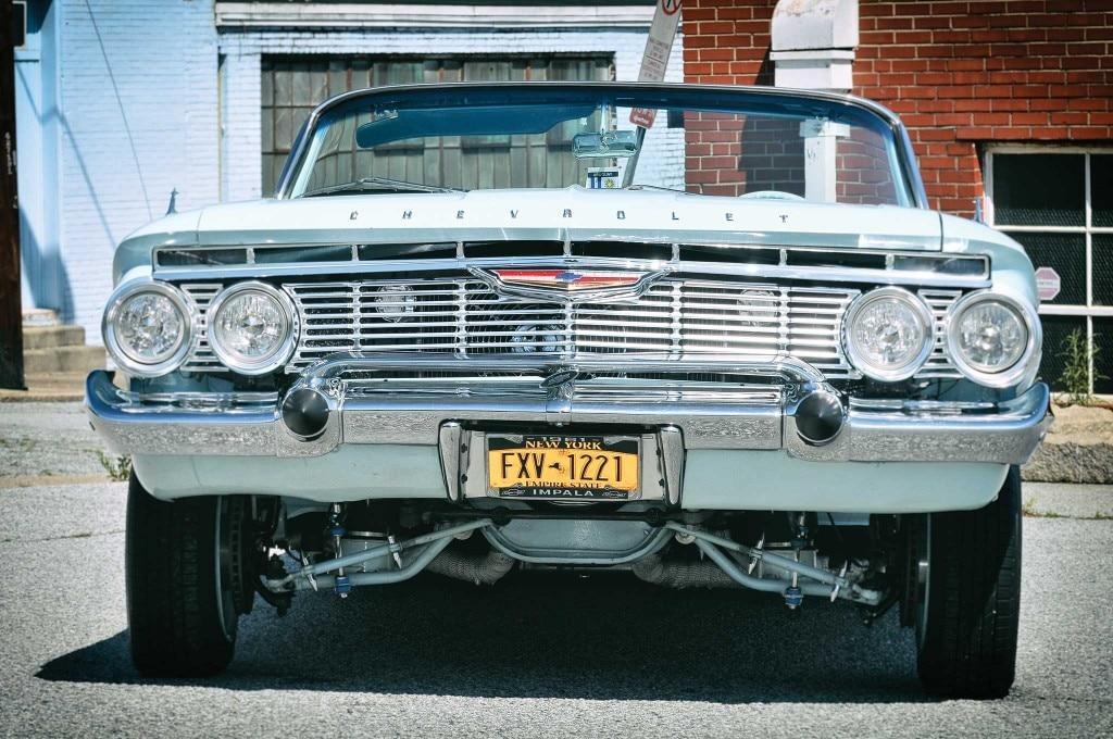 1961 chevy impala convertible front bumper 005