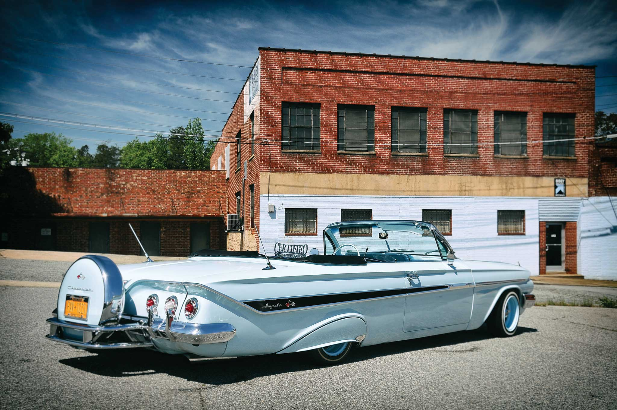 1961 Chevrolet Impala Convertible Big Boy Toy Lowrider