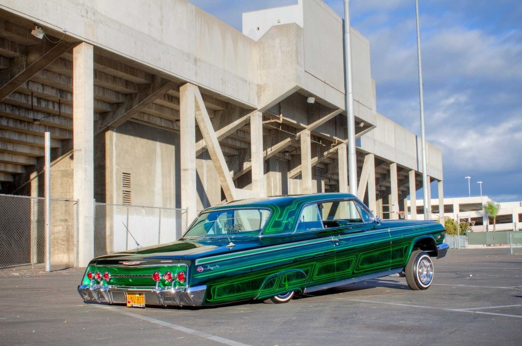 1962 chevrolet impala passenger side rear quarter view 003