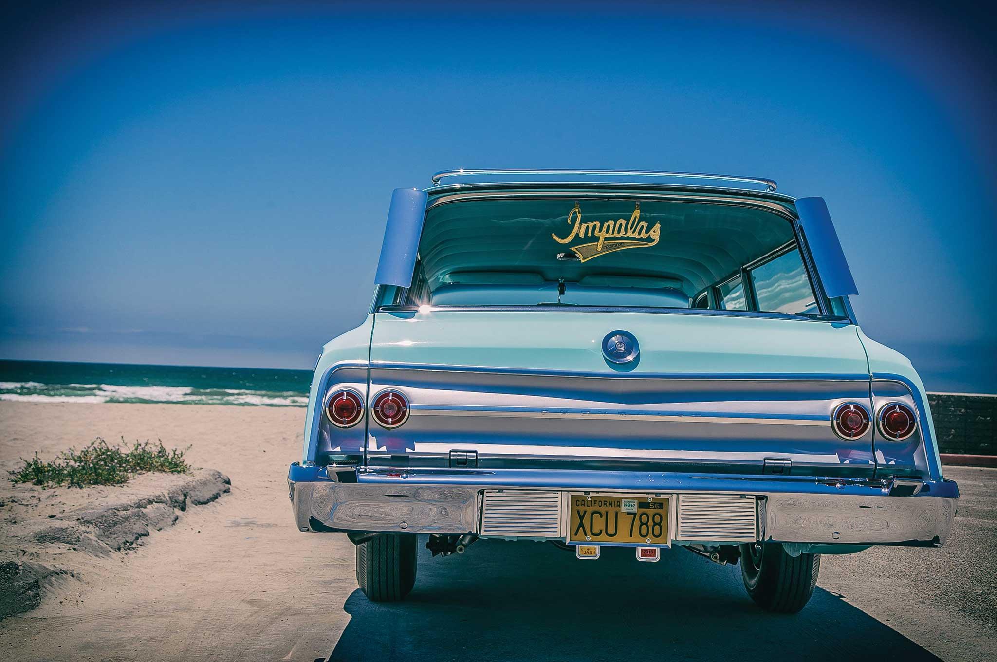 1962 Chevrolet Impala Wagon - Just a Wagon - Lowrider