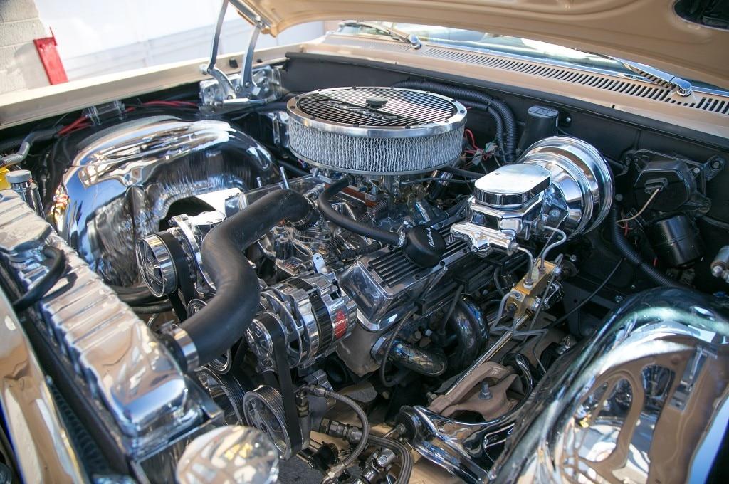 1963 chevrolet impala convertible engine