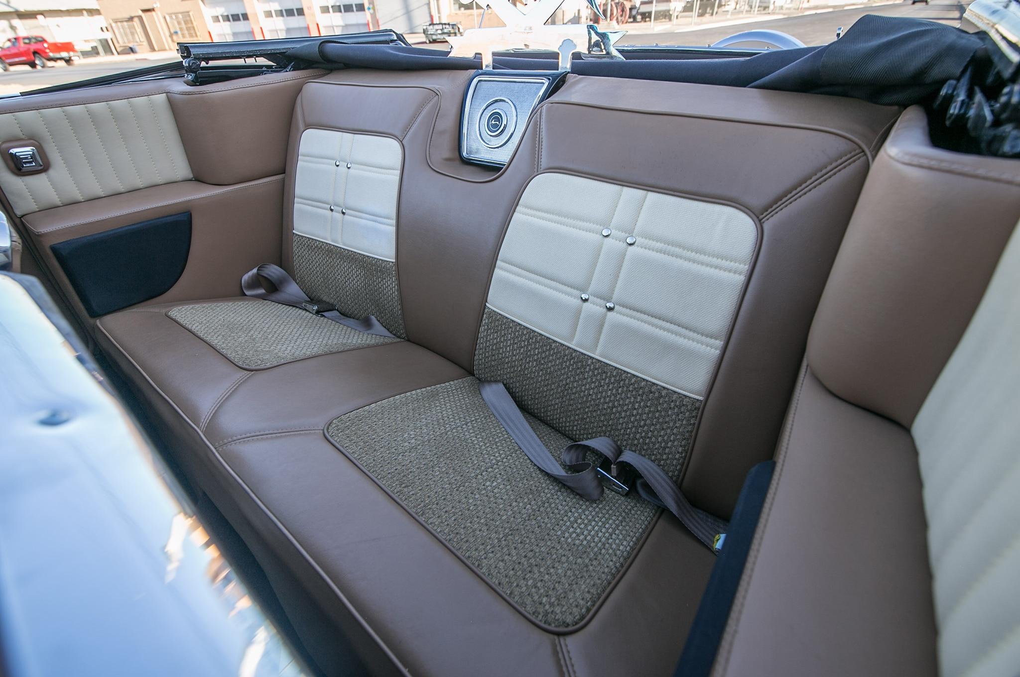 1963 Chevrolet Impala Convertible Interior Back Bench Seat