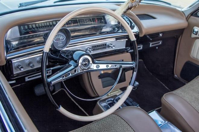 1963 chevrolet impala convertible interior steering wheel