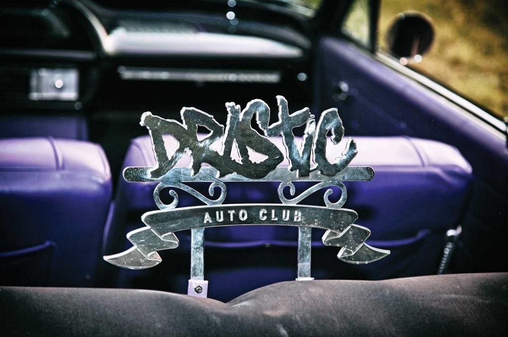 1964 chevrolet impala drastic auto club plaque 006