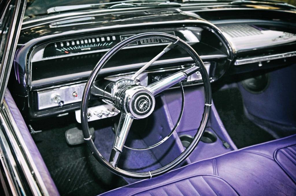 1964 chevrolet impala steering wheel 003
