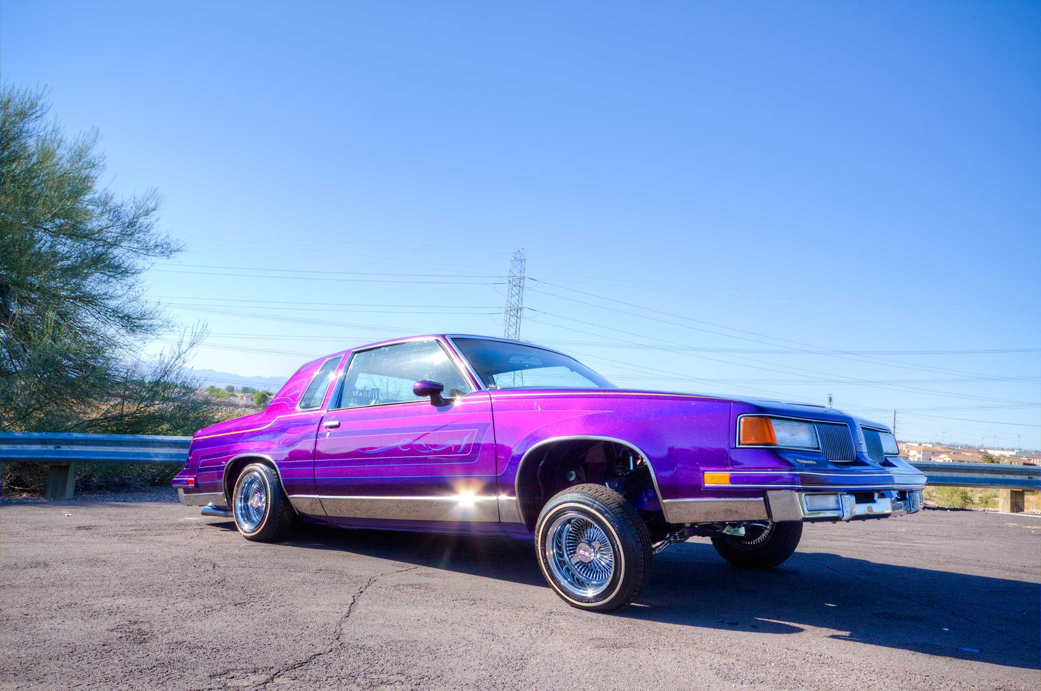 Lowrider Rims And Tires >> '93 Cadillac Fleetwood & '84 Oldsmobile Cutlass - The Game Don't Wait - Lowrider