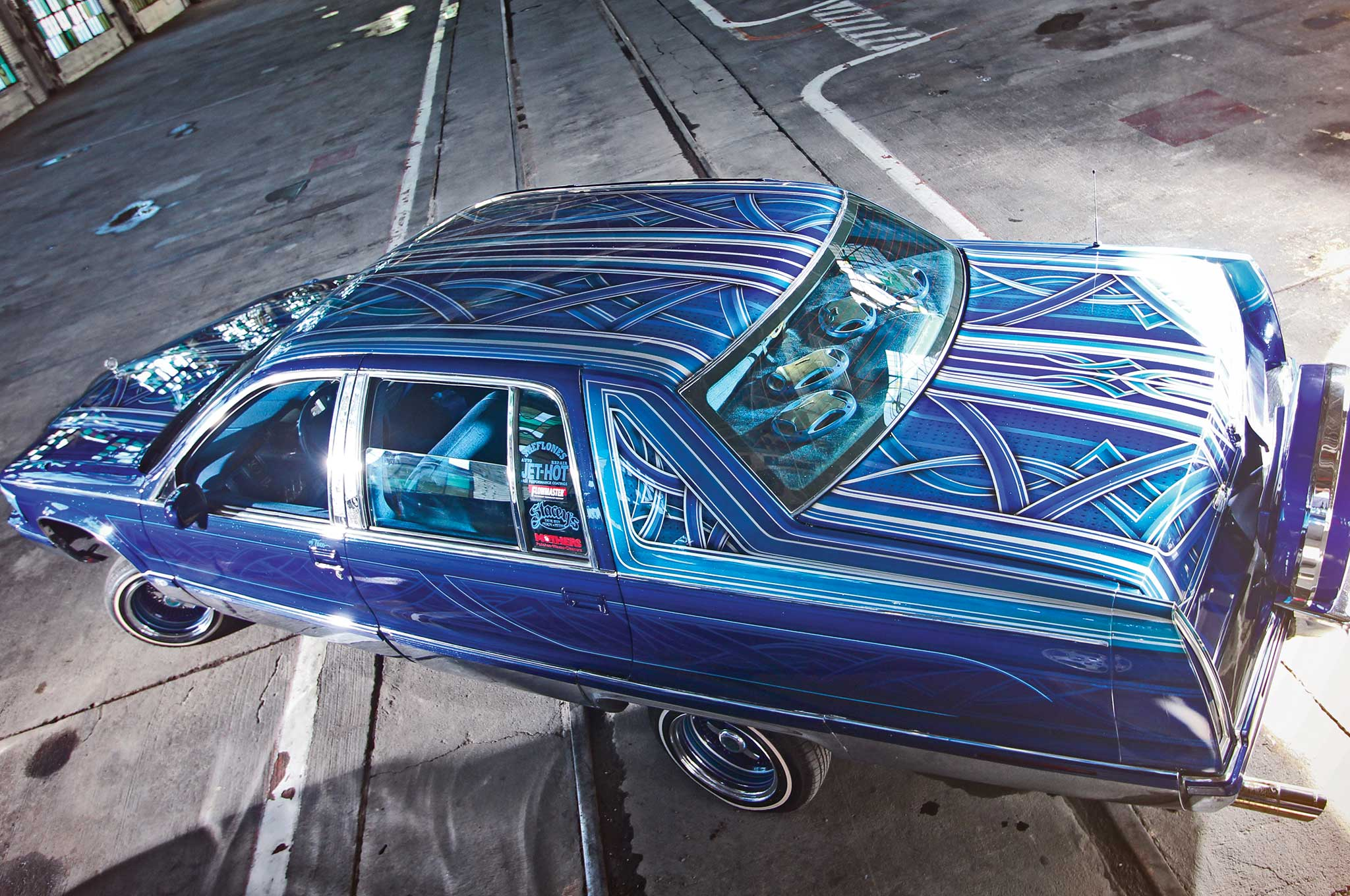 Cadillac Fleetwood Custom Graphics