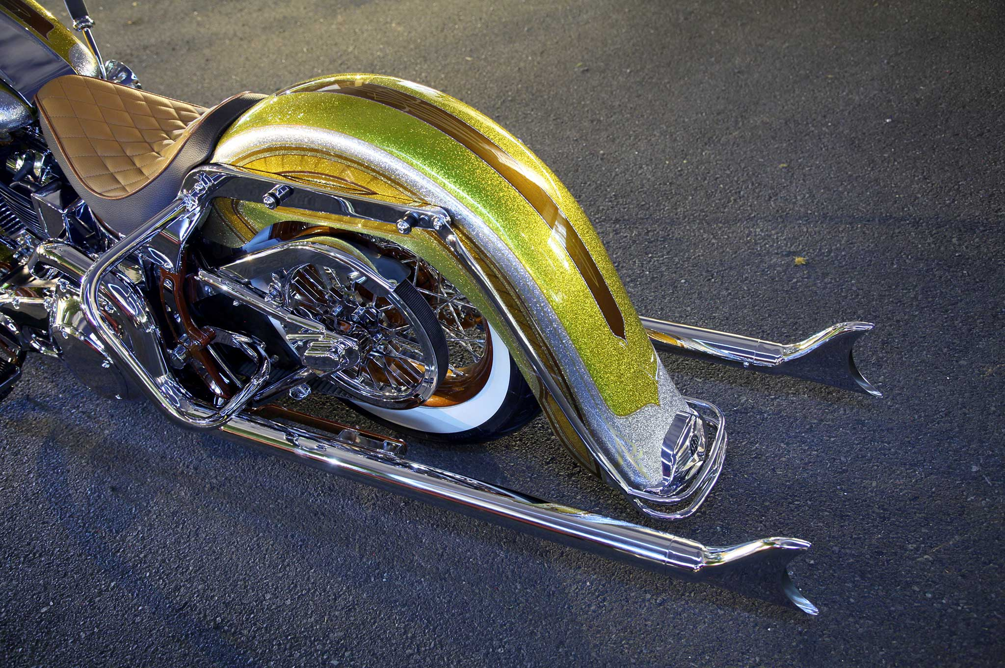 2005 Harley Davidson Softail Deluxe Exodus Lowrider