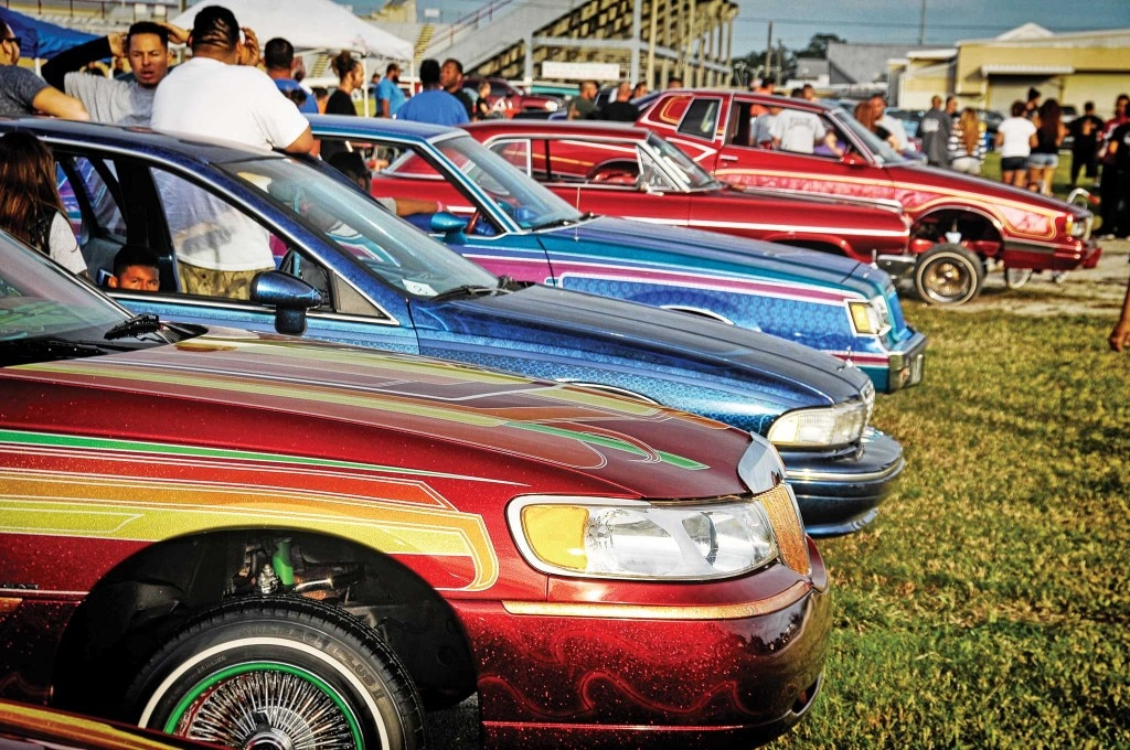 A Florida lowrider get-together to help out the St. Jude Children's Hospital.