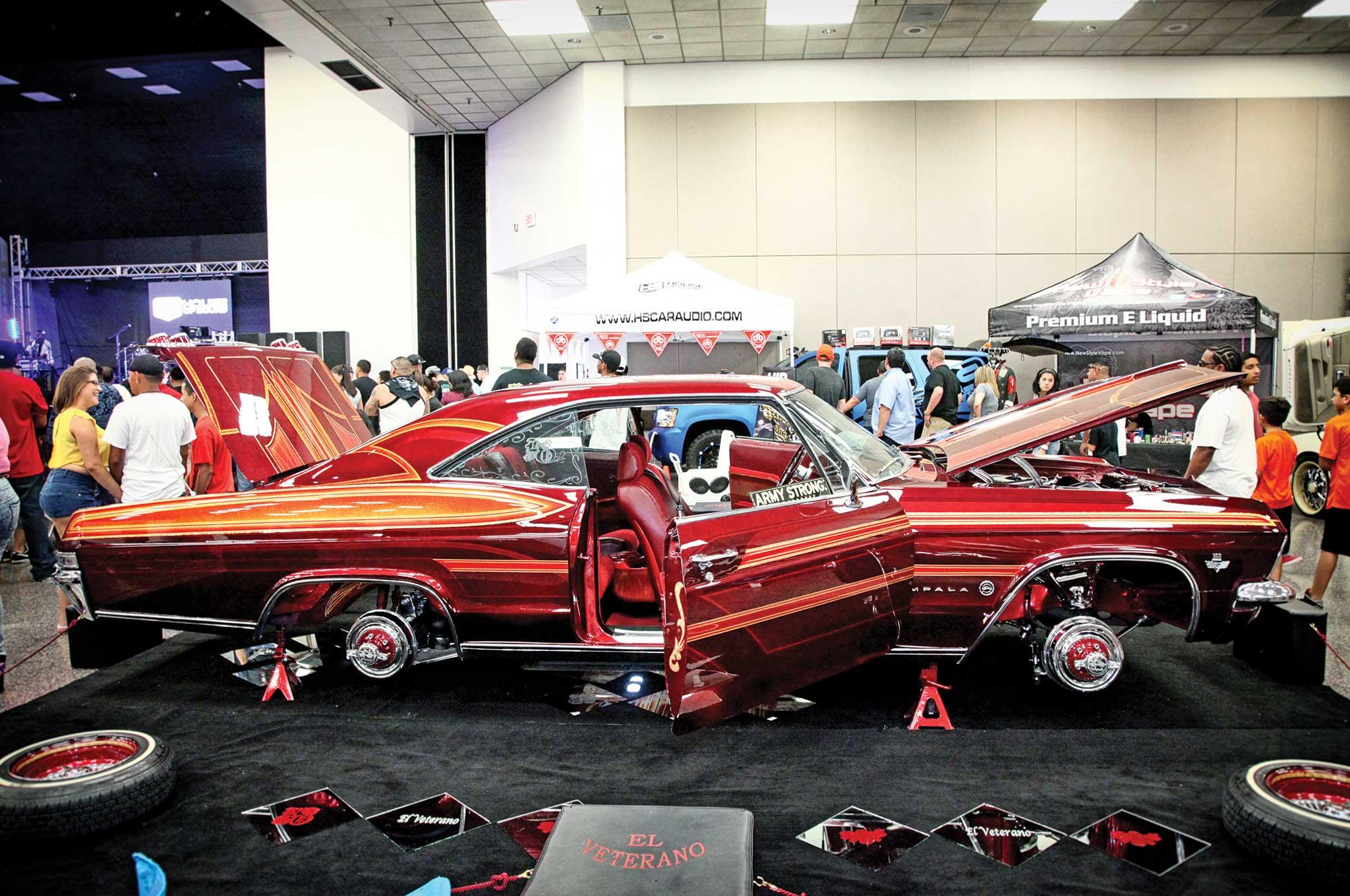 Pasadena Tejas Super Custom Car Show And Concert Impala - Custom car show
