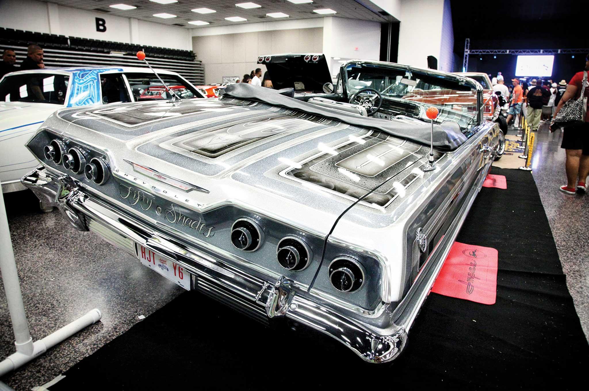 Pasadena Tejas Super Custom Car Show Concert Lowrider - Pasadena car show