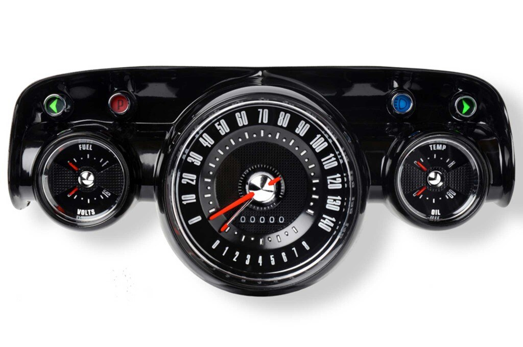 57 chevy superstock instrument set 001
