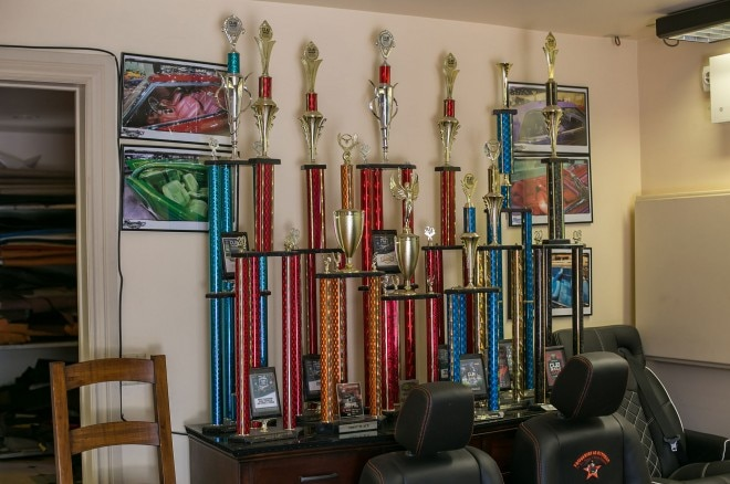 california upholstery trophies