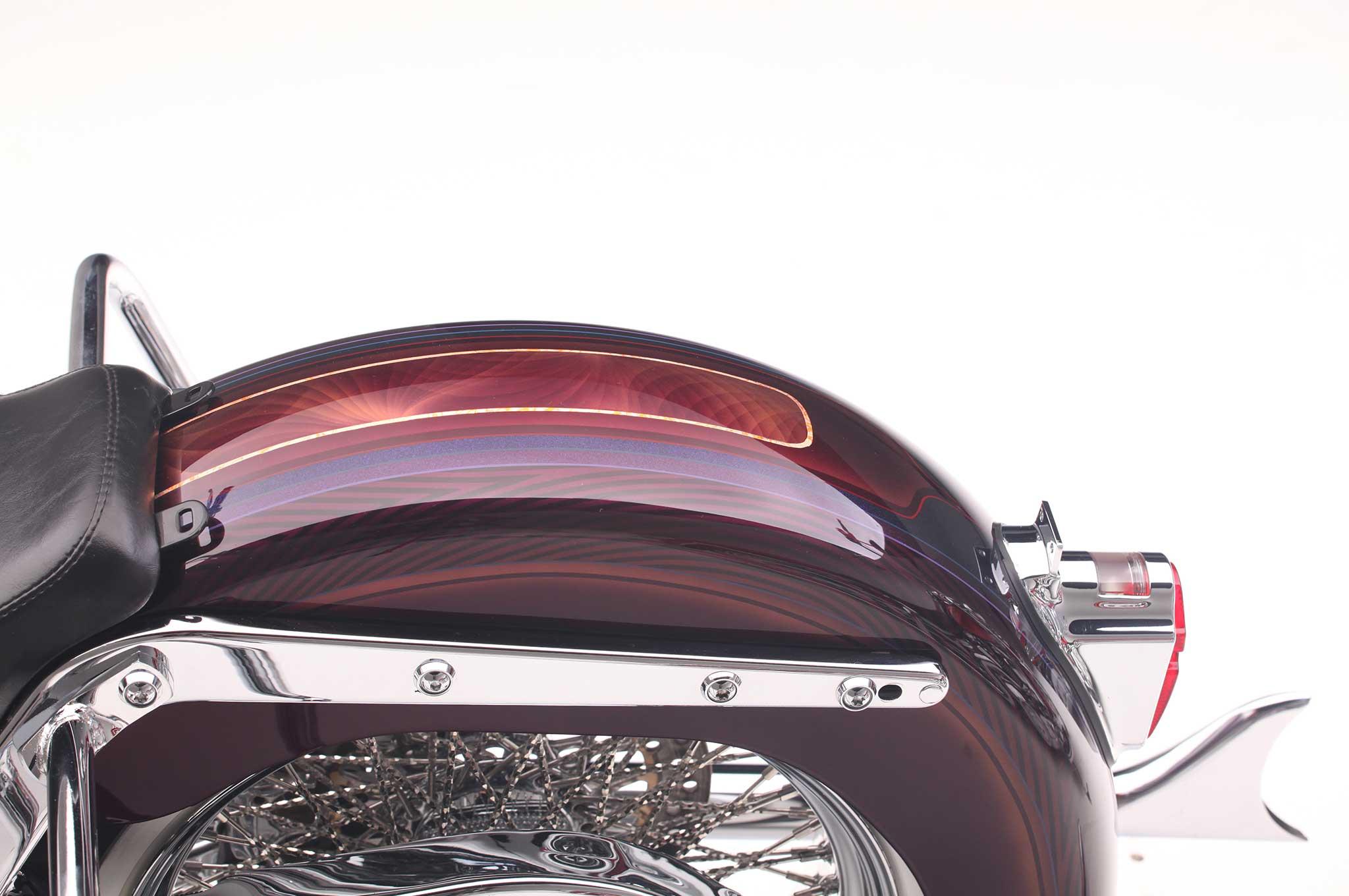 Harley Davidson Fender Bib Softail Best 2018 Heritage Clic Deluxe Rear